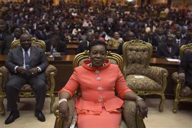 Central African Republic Interim President Catherine Samba-Panza has been sworn in as leader of the troubled nation. French troops and their allies are occupying the mineral-rich state. by Pan-African News Wire File Photos