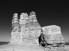Castle Rock in profile