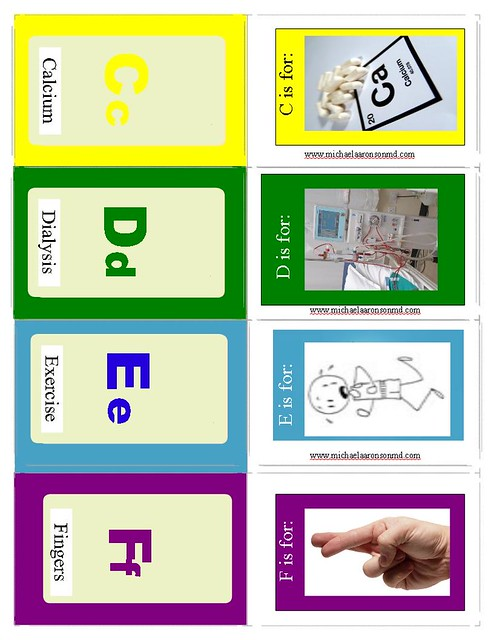 Aaronson Flash Cards C to F