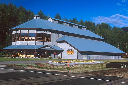 Revelstoke Railway Museum, Revelstoke, Kootenay Rockies, British Columbia, Canada