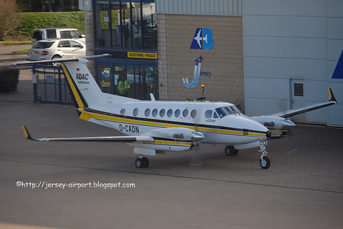 D-CADN Beech 350 King Air by Jersey Airport Photography