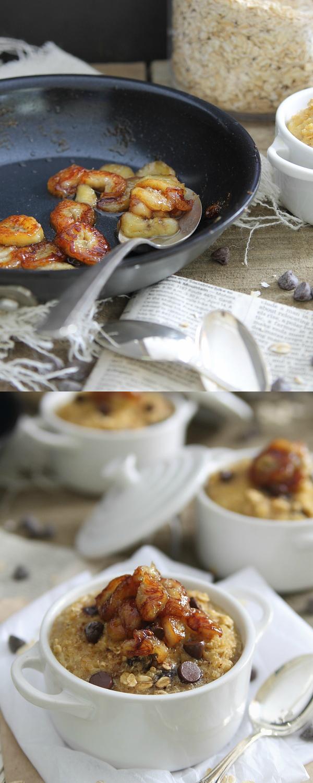 Banana and Chocolate Chip Breakfast Bake