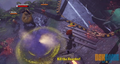 Dead Island Epidemic, fases entre hordas de zombis