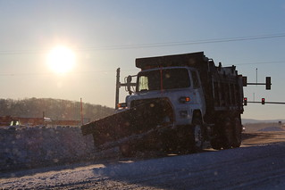 VDOT snow plow