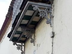 Detalle de un balcón de El Buitrón