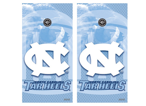 North Carolina Cornhole Game Decal Set