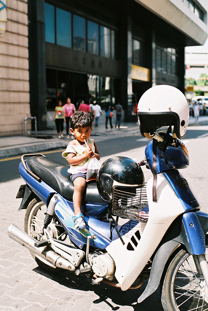 Under-Age Motorcyclist :)