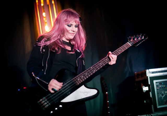 Kelly Ogden of The Dollyrots