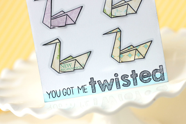 you got me twisted.
