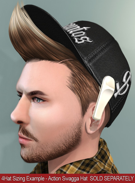 [TMD] Jimmy Hair 4Hat Sizing Example