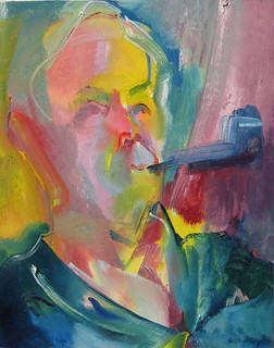 Tony Benn by Stephen B Whatley