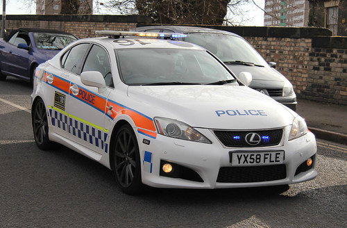 Humberside Police Lexus IS-F Road Crime Unit On Shout