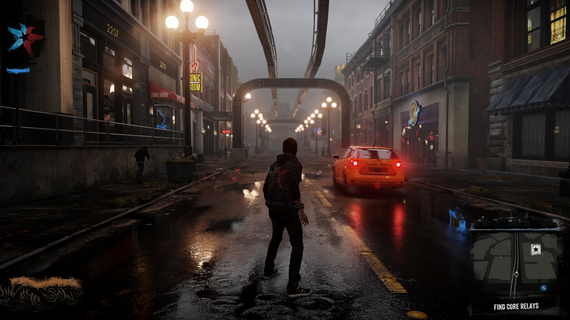 inFamous: Second Son-tråden