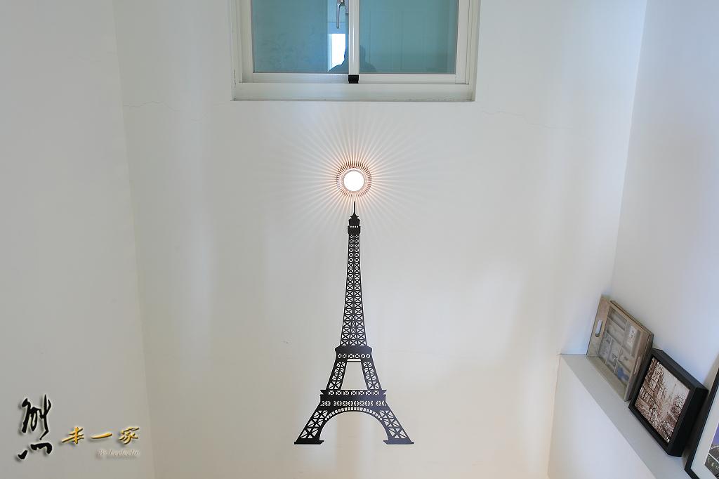 巴黎鐵塔民宿~近冬山單車步道、羅東公園羅東夜市