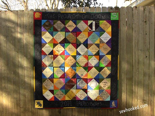 Project of Doom Signature Quilt