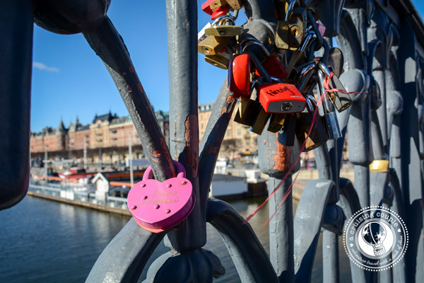 Love Locks in Stockholm