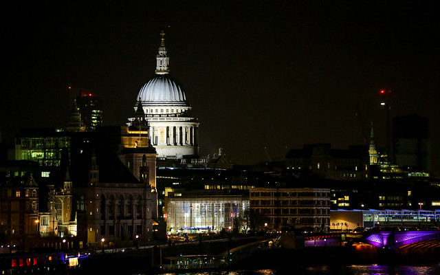 St Pauls Cathedral and Blackfriars