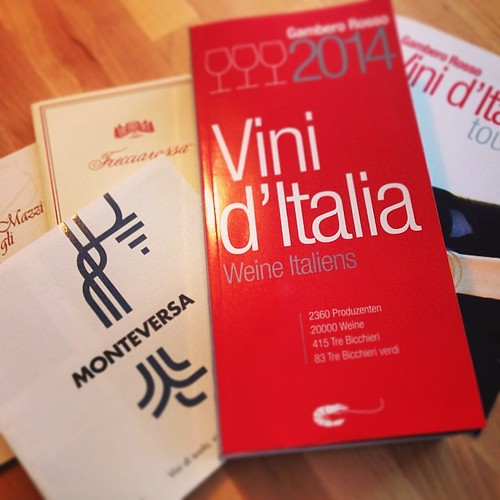 Best Italian wines in one book: Gambero Rosso presents its Vini d'Italia 2014.