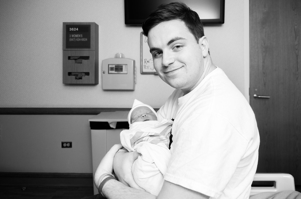 Daddy and Ezra