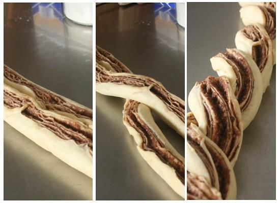 Braided Hazelnut Coffee Cake