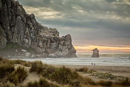 ocean california seascape landscape coast pacific shore morrobay morrorock seastack