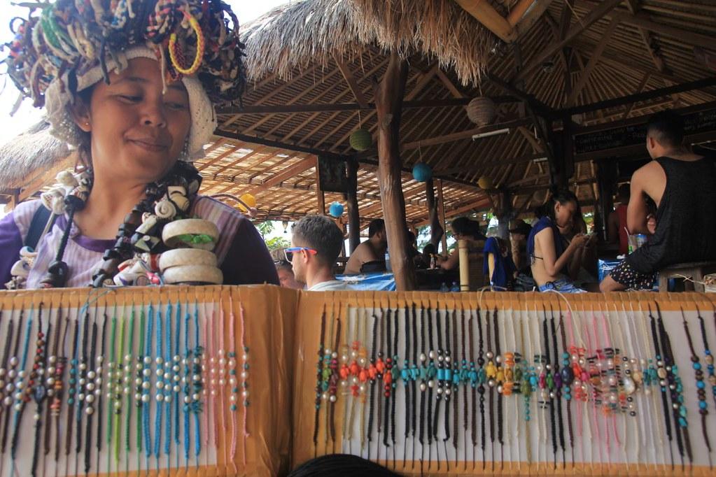 Penjual Mutiara di Gili Air