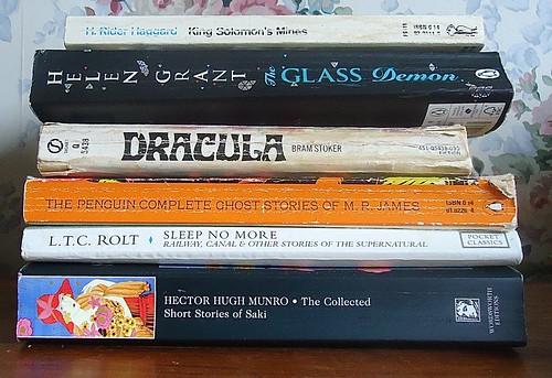 Helen Grant's reading pile