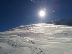 Aufstieg Skitour Kleine Gaisl Pragser Dolomiten
