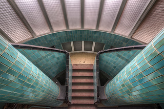 Urbex Art Deco Pool