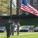 AFROTC Flag Retreat Ceremony 4.14