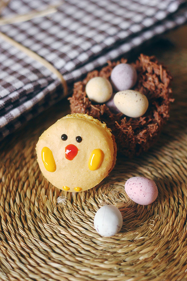 Easter Macaron Recipe Chocolate Nests