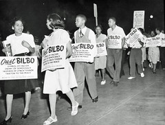 Negro Congress Pickets Bilbo: 1946