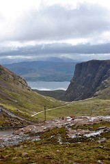 Bealach na Ba (Bealach na mBà), Applecross, Scottish Highlands