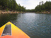 Kayaking on Willow Lake