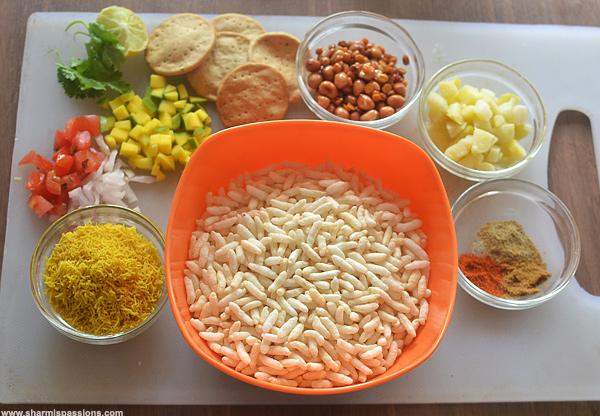 Sukha Bhel Recipe