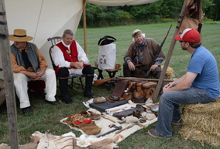 Sat, 09/10/2016 - 10:09 - Re-enactors at 2016 Orleans County Heritage Festival.
