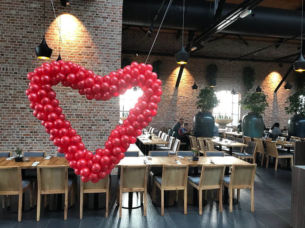 Ballonnen Harten  24/7 bezorgd door heel NL