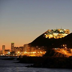 #Alicante #ProvinciadeAlicante #LaMillorTerretadelMón  Una preciosa imagen #GentedeAlicante para desearos una Bona Nit a Tots y un buen descanso después de las #inundaciones de ayer.☺ Buenas noches Familia! :gift_heart: #EALicantinas #spain #night #sunset