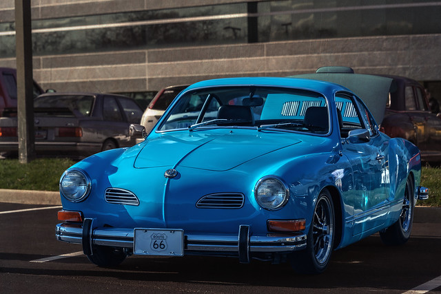Volkswagen Karmann Ghia (Cars & Coffee of the Upstate)