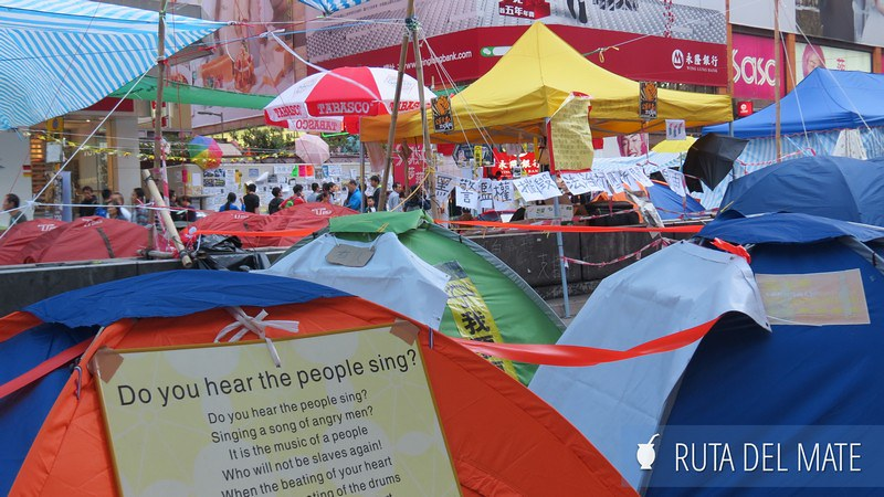 Umbrella Movement Hong Kong (1)