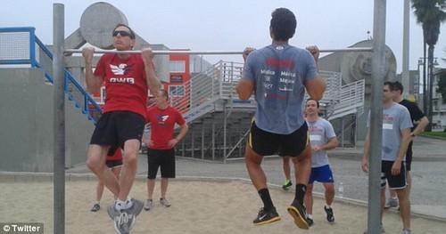 David Petraeus Venice Beach