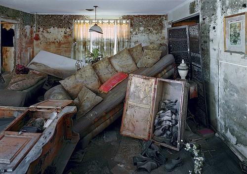 Robert Polidori, 1908 Wickfield Drive, New Orleans, 2005