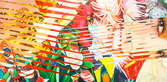 """Painting by James Rosenquist: Females and Flowers, 1984 (Oil on canvas)"" / Richard Gray Gallery / Art Basel Hong Kong 2013 / SML.20130523.6D.13865"