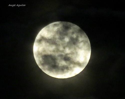 Zacatecas moon --  Luna Zactecana