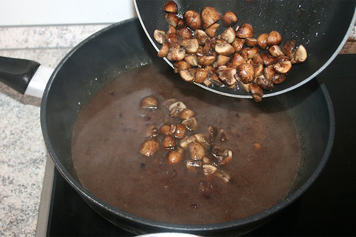 70 - Champignons dazu / Add mushrooms