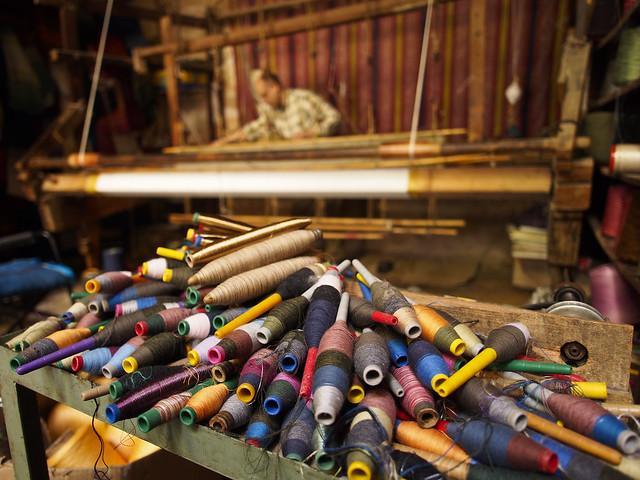 Old fashioned loom