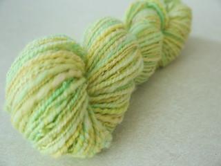 Handspun yarn