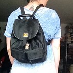 MCM backpack from tag sale in East Hills