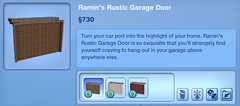Ramin's Rustic Garage Door