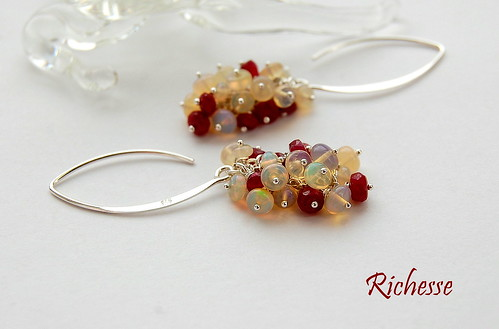 Richesse Earrings by gemwaithnia